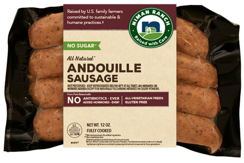 Niman Ranch Andouille Sausage with No Sugar