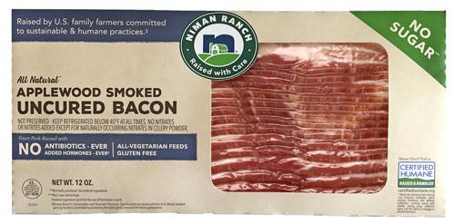 Niman Ranch No Sugar Added Bacon