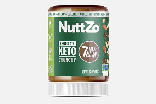 NuttZo has launched its new Chocolate Keto Seven Nut and Seed Butter, putting a new, sweet spin on NuttZo's best-selling SKU, Original Keto butter