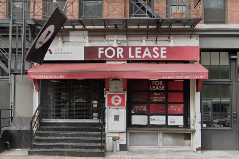 The newest ghost addition to the New York City food scene is set to open up its Manhattan operations before April at 116 W. Houston Street in Greenwich Village (Photo: NY Eater / Google Maps)