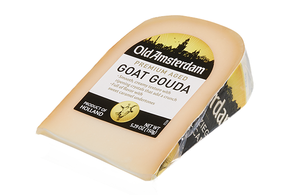 Old Amsterdam's Classic Aged Gouda and Old Amsterdam Goat Gouda are versatile and align with trending taste preferences as Gouda cheese continues to grow in the U.S. and worldwide