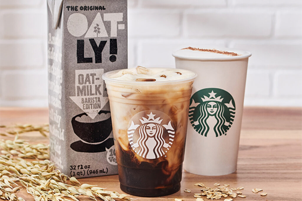 Oatly has unveiled a recent partnership with Starbucks, which will now be offering its products alongside new spring menu items at its stores nationwide