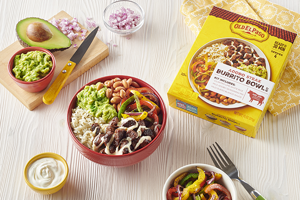 Old El Paso has debuted several new products to bring favorite restaurant flavors onto the dinner table in 30 minutes or less
