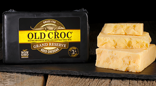 Only the finest grade of cheese is selected to be Grand Reserve cheddar