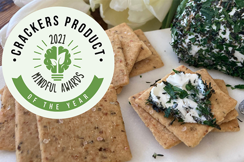 Onesto Foods recently gained a new accolade, earning Cracker Product of the Year at the 2021 Mindful Awards