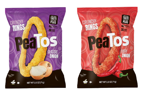 These pea-based onion rings will be made available at Kroger stores this fall