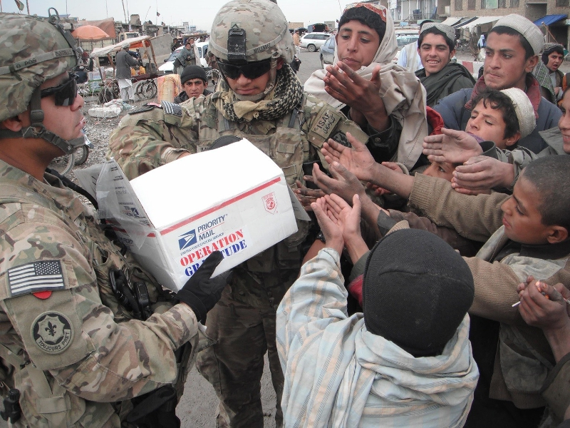 Operation Gratitude shows support and appreciation for U.S. service members through the delivery of personalized care packages.