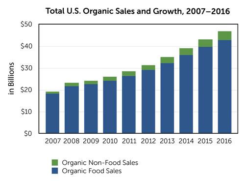 Organic Growth Chart