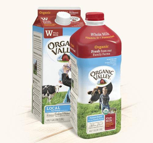 Organic Valley packaging