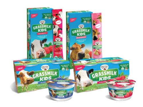 Grassmilk Kids Yogurt Packaging