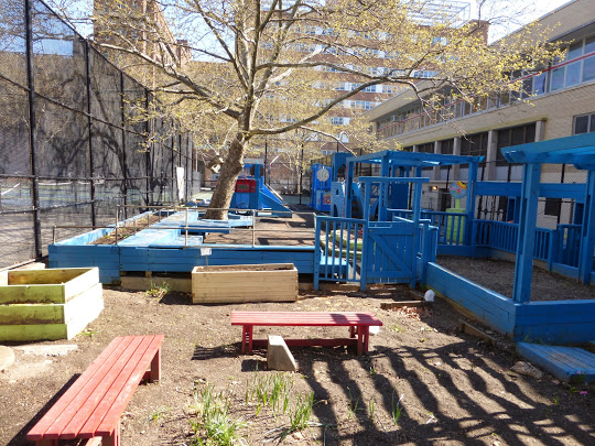 P.S. 197 John B. Russwurm Elementary School Playground (Photo Source: Inside Schools)