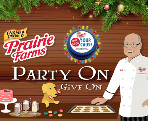 Prairie Farms' Party on Give On holiday campaign returns for another festive retail season