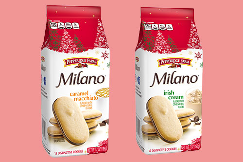 These new cookie flavors come just in time to put consumers in a festive mood