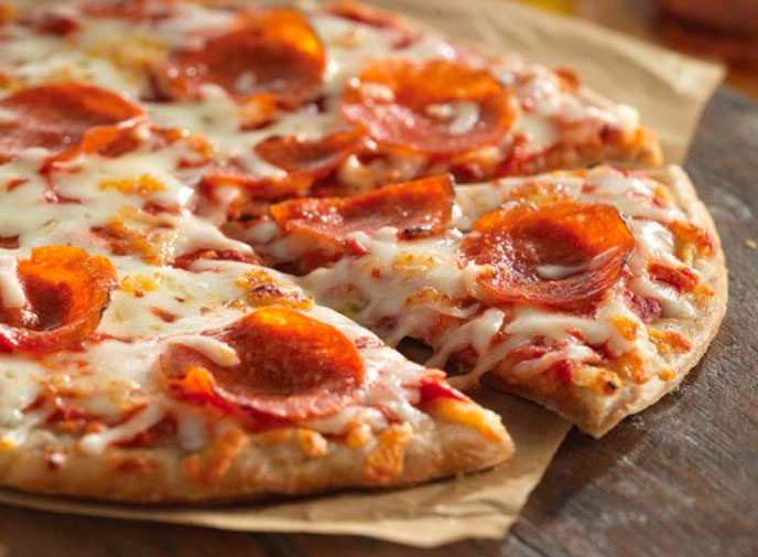 Any Takers? Smart Flour Foods Pepperoni Pizza