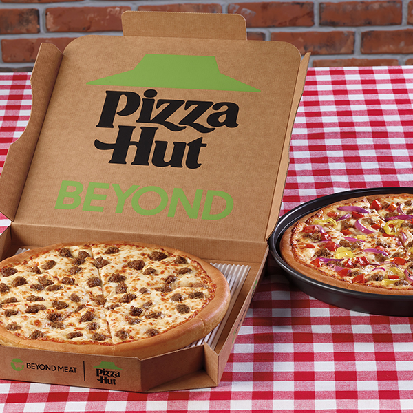 Expanding its partnership with Yum! Brands, Beyond Meat has announced that it is joining with Pizza Hut to release new plant-based offerings