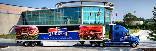 Plumrose USA Truck