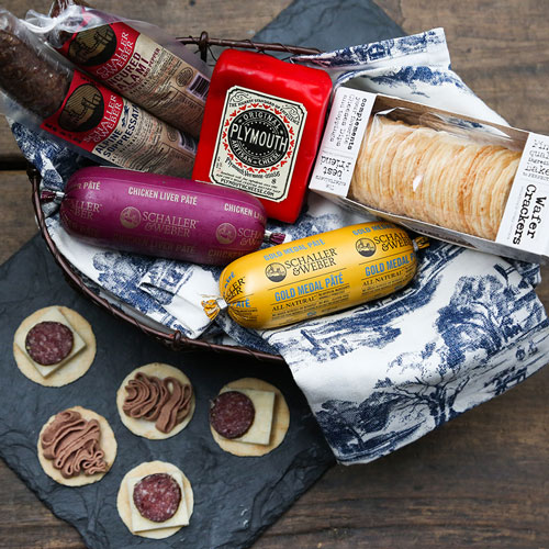 In partnership with Schaller & Weber, Plymouth Artisan Cheese created the Cheddar Brat