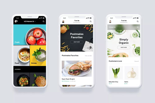 Postmates Launches On-Demand Grocery Delivery