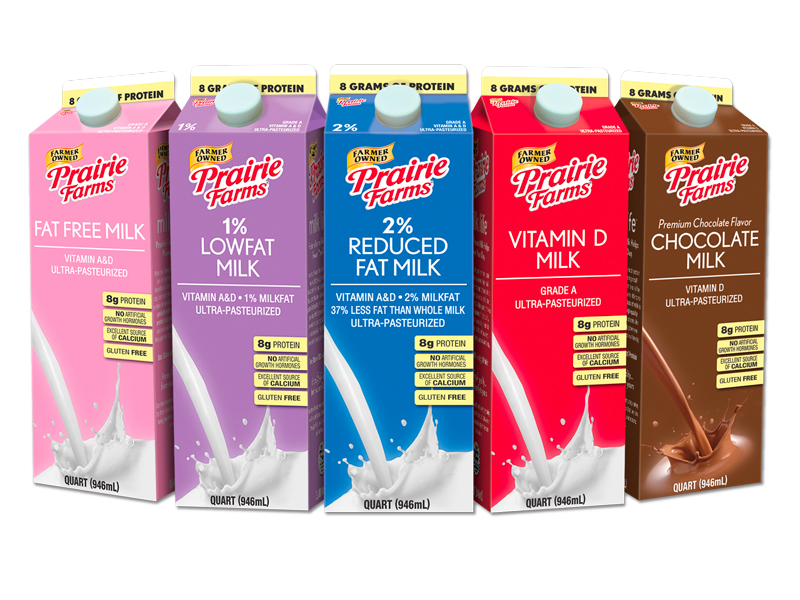 The Prairie Farms family of companies won a combined 39 awards at the World Dairy Expo Championship Dairy Product Contest in Madison, Wisconsin