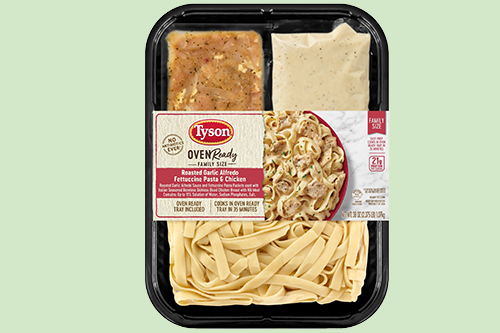 Tyson® is stepping up to the dinner table by adding new flavors to several lineups to ease cooking fatigue