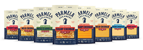 """The packaging emphasizes this pursuit of authenticity in many ways, with the design honing in on a style Parmela Creamery calls """"perfectly imperfect"""""""
