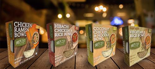Premium Noodle and Rice Bowls