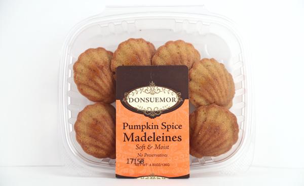 Donsuemor's Pumpkin Spice Madeleines