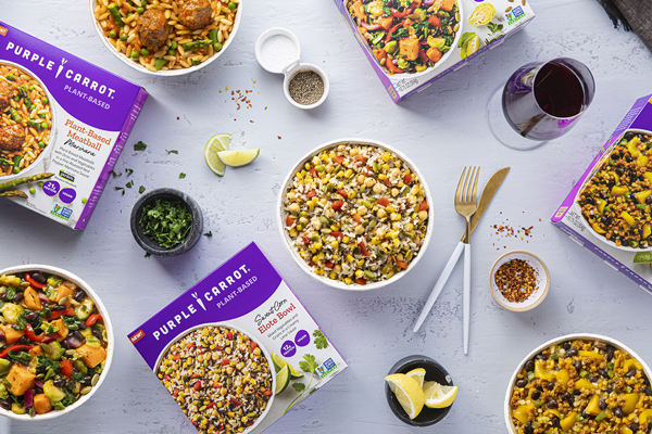 Whole Foods Market recently tapped a new partner, Purple Carrot, to funnel plant-based products to the frozen aisle in the way of new single-serve meals