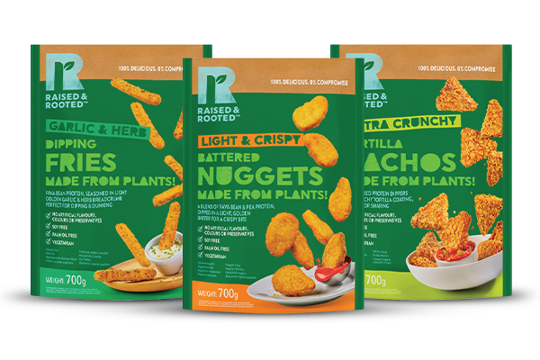 Tyson Foods is expanding its plant-based brand Raised & Rooted™ into the European market