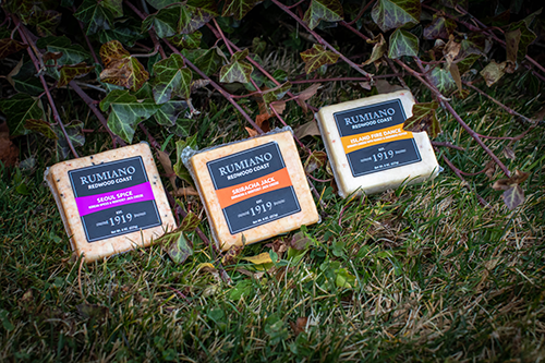 Rumiano Cheese saw an excellent response from buyers to its Redwood Coast line