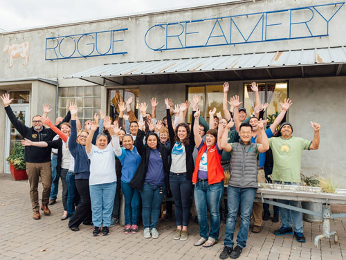 The Rogue Creamery Team