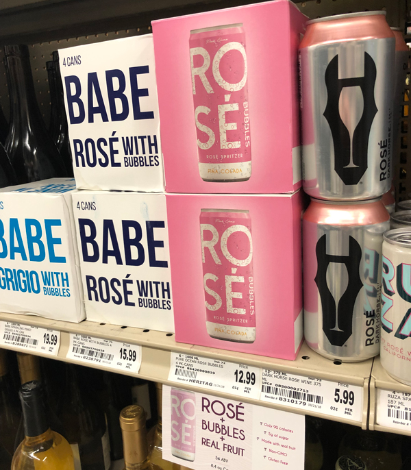 Rosé Bubbles is the perfect complement to a day at the beach, pool, tailgate party, or on-the-go event thanks to its slim RTD cans