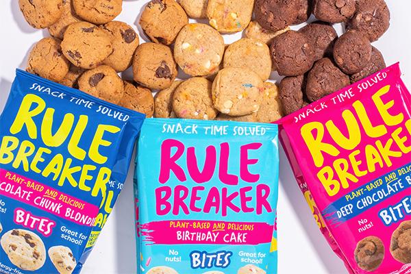 Bimbo Ventures recently acquired a minority stake in Rule Breaker Snacks®, creators of vegan, gluten-free, and allergy-friendly treats