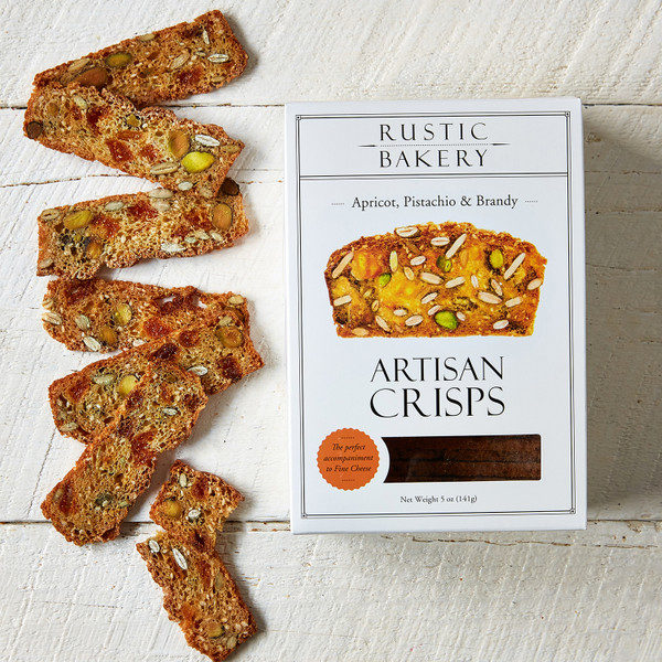 Rustic Bakery's Artisan Crisps and shortbread cookie lines have had a redesign of packaging and recipes in the last year