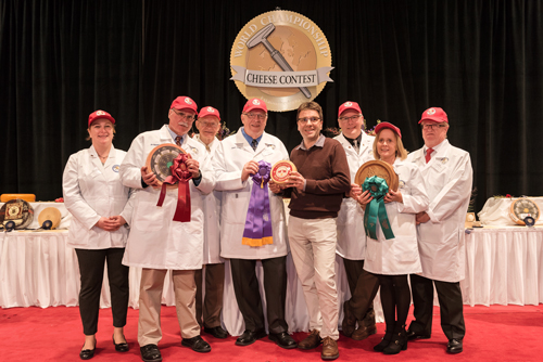 Savencia Cheese USA was the first French cheese company to take home the Best Cheese in the World award at the World Cheese Championship Contest