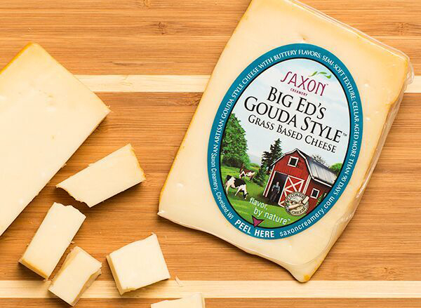 Big Ed's Gouda Style Cheese from Saxon Creamery