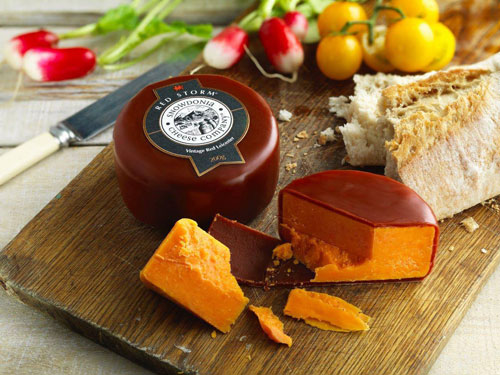 Snowdonia's Red Leicester Cheese