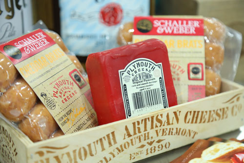 The new product combines Plymouth's signature Original Cheddar and Schaller & Weber's delectable smoked sausage