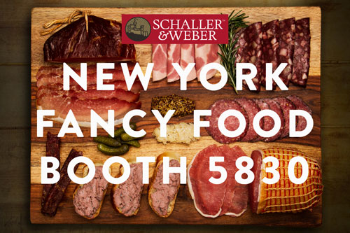 Visit Schaller & Weber at SFFS, booth 5830
