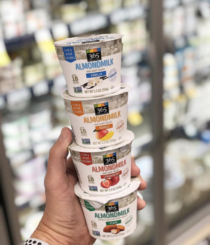 The retailer will be adding almond-milk based yogurts to its vegan-friendly offerings