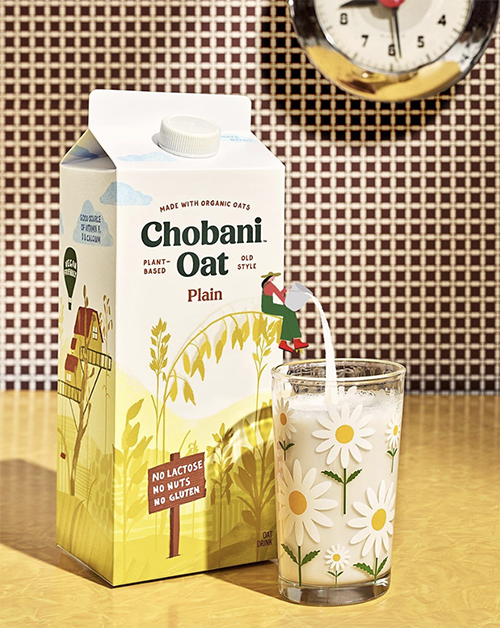 Chobani, a leader in the dairy category, was recently recognized by the National Milk Producers Federation (NMPF) for the strategy it's using to draw attention to its new line of oat-based products