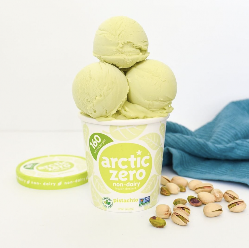 ARCTIC ZERO®, the maker of the better-for-you frozen desserts, has expanded its non-dairy frozen dessert line with two new flavors: Classic Vanilla and Pistachio