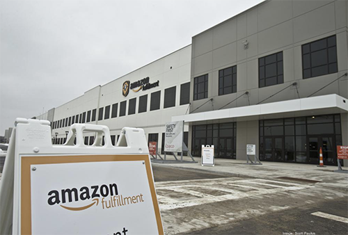 In a strategic move, Amazon divested one of its fulfillment centers for $176 million to set up smaller distribution hubs across the United States (Image: Scott Paulus, Milwaukee Business Journal)