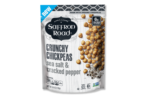 Saffron Road® is one of the leading brands offering clean-label premium frozen meals, simmer sauces, and plant-based protein snacks