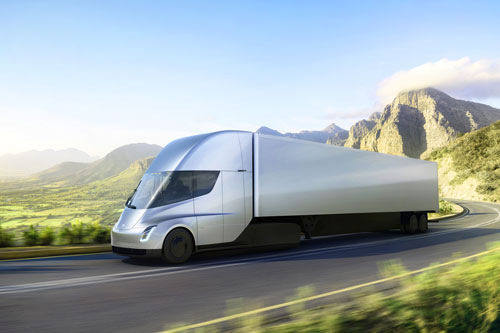 Tesla's Electric Semi