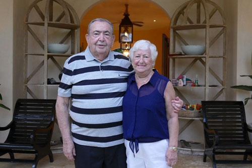 Seymour Binstein and his wife