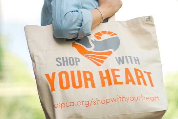 The American Society for the Prevention of Cruelty to Animals (ASPCA) launched the Shop With Your Heart program in 2016