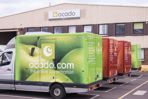 Kroger's partner, Ocado, has reportedly been talking to UK-based Marks & Spencer (M&S) about a potential grocery supply deal