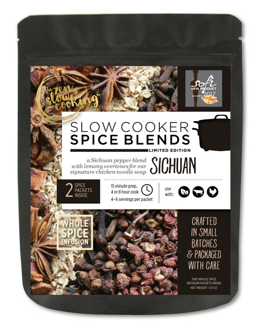 Slow cooker spice blends, Sichuan flavor