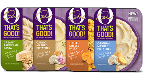 Oprah's four new flavorful side options